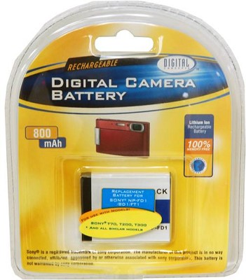 800mAh Replacement battery for Sony NP-BD1