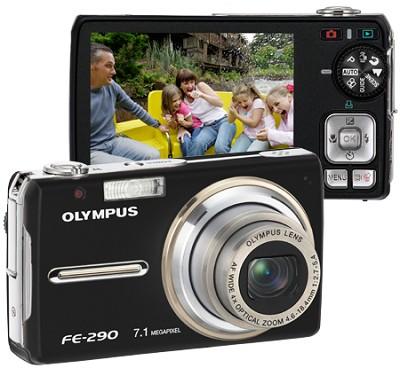 FE-290 Digital Camera (Black)