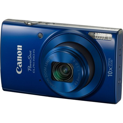 PowerShot ELPH 190 IS Digital Camera with 10x Optical Zoom and Wi-Fi - Blue