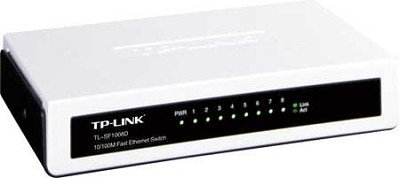 8-port Unmanaged 10/100M Desktop Switch