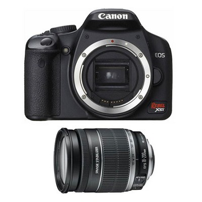 EOS Digital Rebel XSi 18-200mm Lens Kit