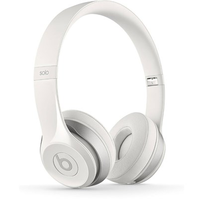 Dr. Dre Solo2 Wireless On-Ear Headphones (White) - Refurbished