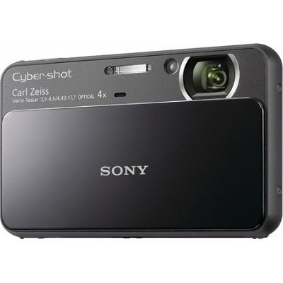 Cyber-shot DSC-T110 16.1MP Black Touchscreen Digital Camera - OPEN BOX