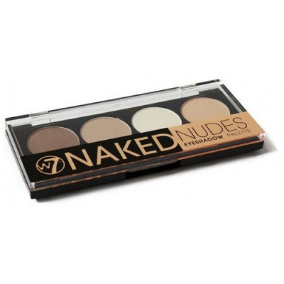 Naked Nudes Eyeshadow Palette (4 Neutral Shades), 0.20 fl oz/5.6g