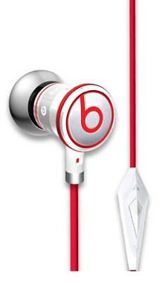 iBeats In-Ear Headphones with ControlTalk (White) - OPEN BOX