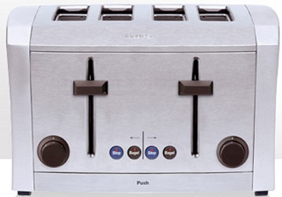 TT9340 - Semi Pro All-Metal 1500-Watt 4-Slice Toaster