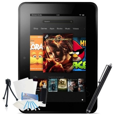 Kindle Fire HDX 7` Touch 16GB Wi-Fi  (With Special Offers) Bundle