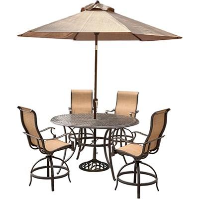 Manor 5-Piece High-Dining Bar Set - MANDN5PCBR-SU