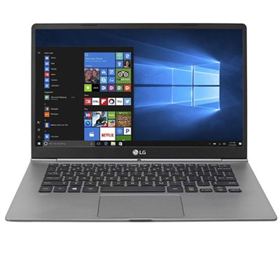 14` gram Intel i7 8GB RAM Touchscreen Laptop (2017) Dark Silver - 14z970-A.AAS7U