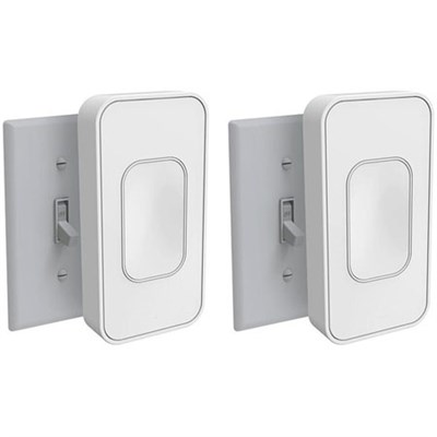 Smart Home Starter Kit - 2  Bluetooth Wireless Voice Activated Toggle Switches