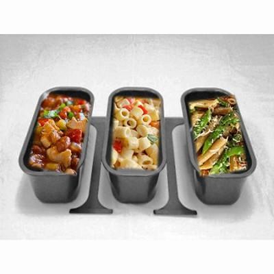 3-Piece 2.75 qt Non-stick Pans Fits Any 18 Qt. Roaster Oven (4908-12-40PR)
