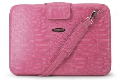 MEPFCXL Large techstyle portfolio pink computer case for Laptops up to 17`
