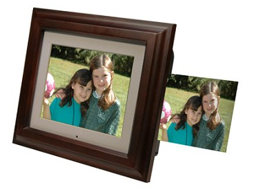 8` Digital Photo Frame with Built-in Printer