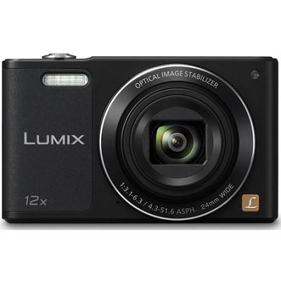 LUMIX DMC-SZ10 Black 16MP Slim Digital Camera with Built-in WiFi