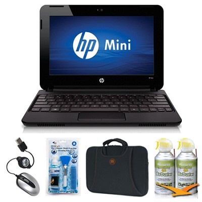 Mini 10.1` 110-3530NR Black Netbook Essentials Bundle