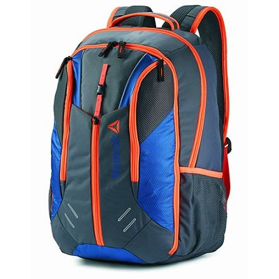 Axel Backpack BLUE/ORANGE/GREY