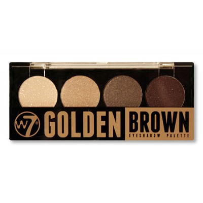 Quad-Eyeshadow Palette Golden Brown - 394440