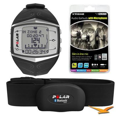 FT60 Heart Rate Monitor - Black (90033469) Bundle
