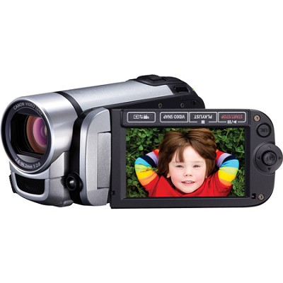 FS400 SD Flash Memory Silver Camcorder