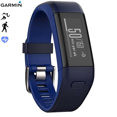 Vivosmart HR+ Activity Tracker Regular Fit,Midnight Blue - Certified Refurbished