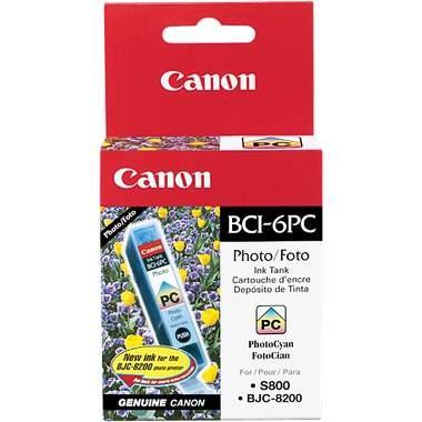 Photo Cyan BCI-6PC Removable Ink Tank f/ S9000/i9100/i950 Printers