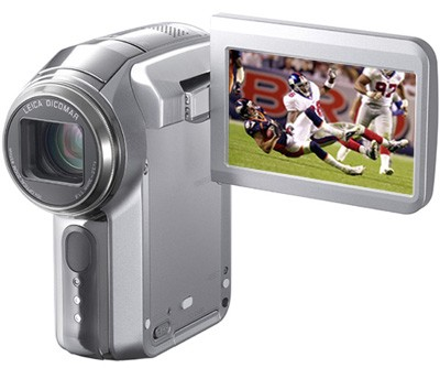 SDR-S100 3CCD SD Digital Camcorder With10x Optical Zoom, 3.1 MP Still Picture