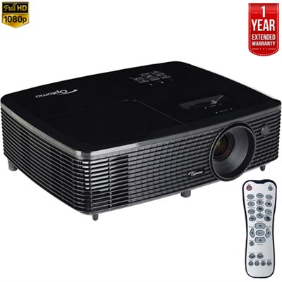 HD142X Full HD 3D DLP Home Theater Projector - Refurbished + Extended Warranty