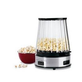 EasyPop Popcorn Maker - Stainless Steel and Black