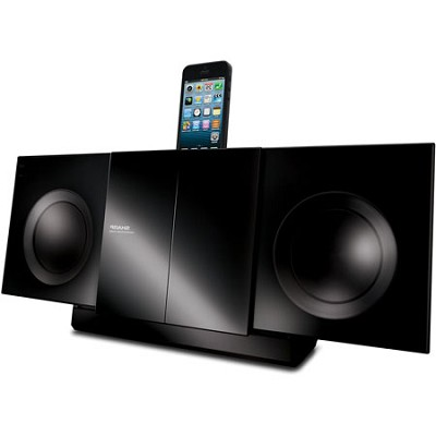 50w Bluetooth Audio Slim Micro System iPhone/iPad/iPod Dock (Black) - DKKP85P