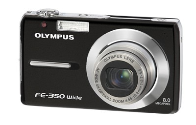 FE-350 8MP Digital Camera (Black)