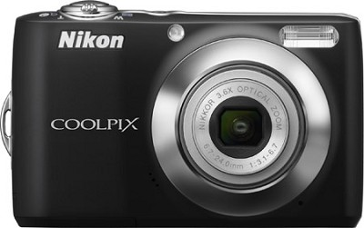 COOLPIX L22 Digital Camera (Black)