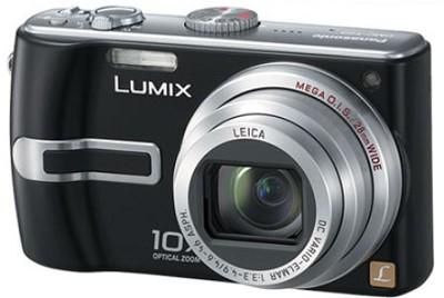 DMC-TZ3K Lumix 7.2 mega-pixel Digital Camera (Black) w/ 10x Optical Zoom