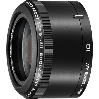 1 NIKKOR AW 10mm f/2.8 Lens Black
