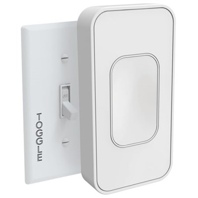 Light Switch Smart Toggle Bluetooth Voice Enabled (White) TSM001W