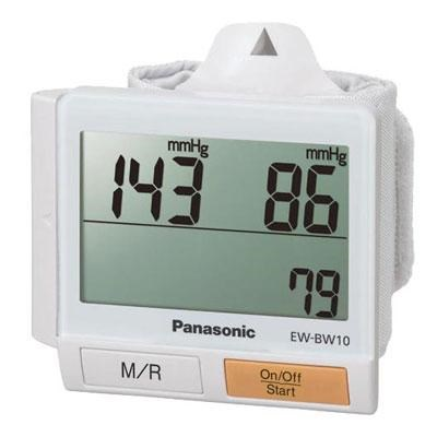 Wrist Blood Pressure Monitor with Extra-Wide LCD Display - EW-BW10W