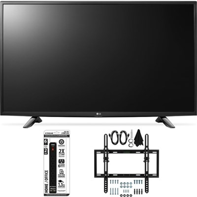 43LH5700 43-Inch Full HD Smart LED TV Flat + Tilt Wall Mount Bundle