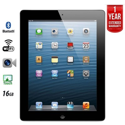 iPad Retina Display MD510LL/A (16GB, Wi-Fi, Black) 4th Gen - Refurbished