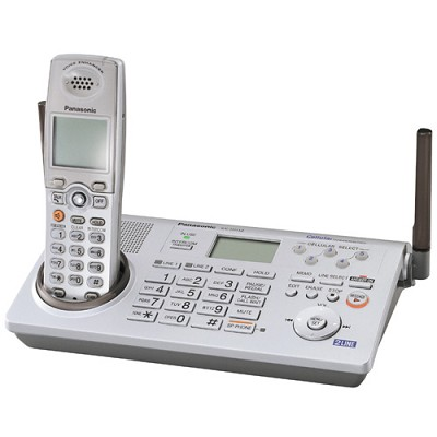 KX-TH112S  2-Line Bluetooth Cordless Phone with Link to Cell Technology