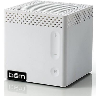 Bluetooth Mobile Speaker for Smartphones White Manufacturer Refurbished