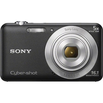 DSCW710 16 MP 2.7-Inch LCD Digital Camera - Black - OPEN BOX
