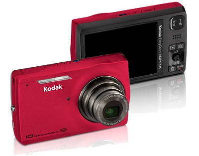 EasyShare M1093 IS Digital Camera  (Red)