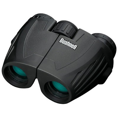 Legend Ultra HD Compact Waterproof 10x26mm Binoculars, Black
