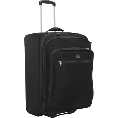 Splash 25 Upright Suitcase (Black)  Retail (No Box)