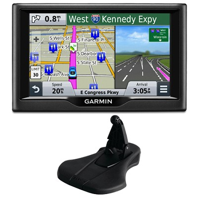 nuvi 58 5` Essential Series 2015 GPS Navigation System US & Canada Mount Bundle