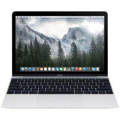 MacBook MF865LL/A 12-inch Laptop with Retina Display 512GB, Silver (Refurbished)