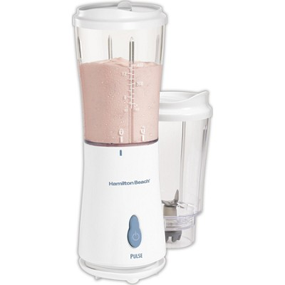 Single- Servce Personal Blender with 2 Jars and 2 Lids - White
