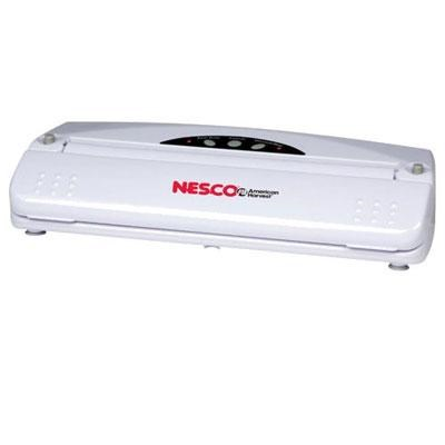 Nesco Vacuum Automatic and One Touch Operation Sealer (White) VS-01