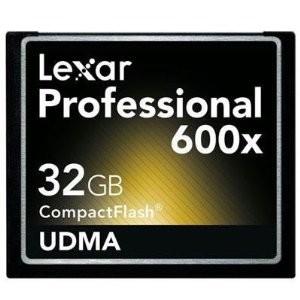 32 GB Professional UDMA 600X CompactFlash Card