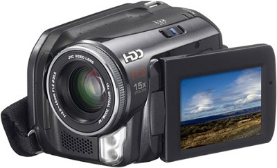 GZ-MG40 Everio Digital Media Camera with 20GB Hard Drive & 15x Optical Zoom