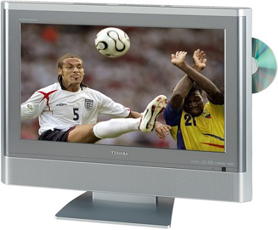 20HLV86 - 20` TheaterWide High-definition LCD TV w/ built-in DVD Player